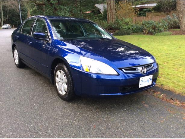 2003 honda accord blue lx g saanich victoria. Black Bedroom Furniture Sets. Home Design Ideas