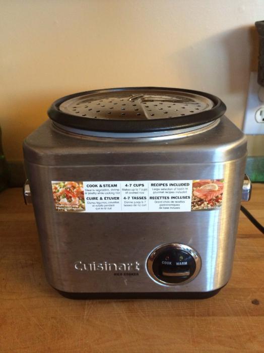 Cuisinart Vegetable Steamer ~ Cuisinart rice cooker and vegetable steamer chemainus