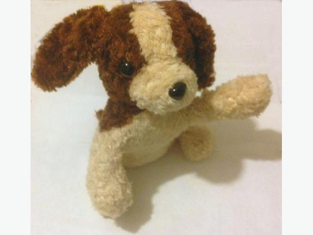 Plush beanie puppy (NEW)