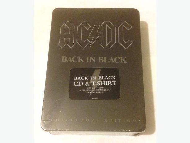 AC/DC Gift Set - T Shirt and Album (NEW)