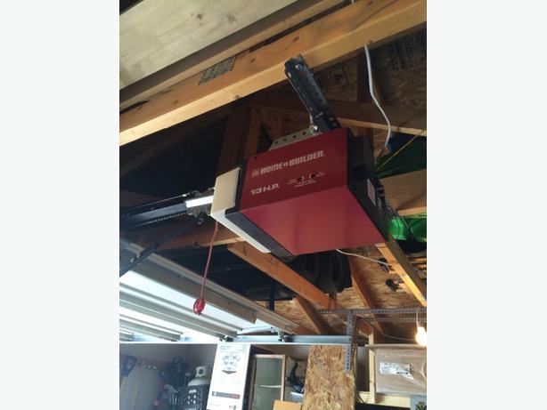 1 3 hp garage door opener central regina regina for 1 3 horsepower garage door opener