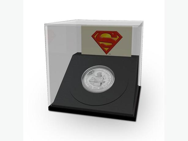 2013 75th Anniversary Superman Fine Silver coins - Vintage