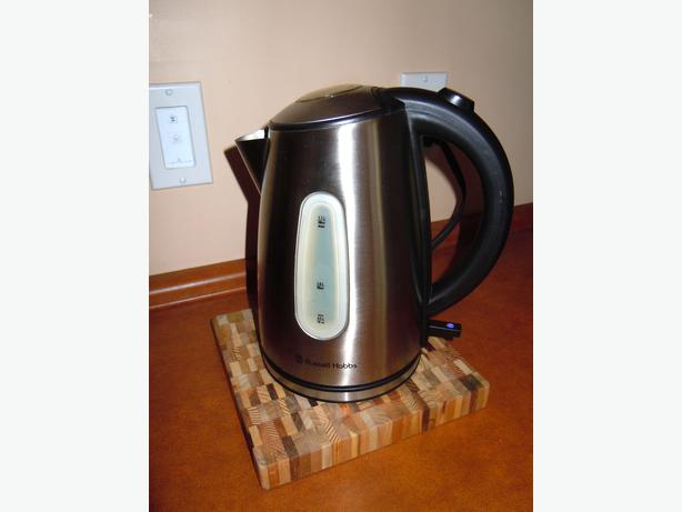 how to clean stainless steel kettle outside