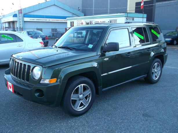 2008 jeep patriot suv 4cyl automatic 4wd low km. Black Bedroom Furniture Sets. Home Design Ideas