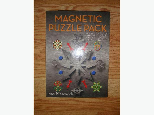 Brand New Magnetic Puzzle Game - Excellent Condition! $10