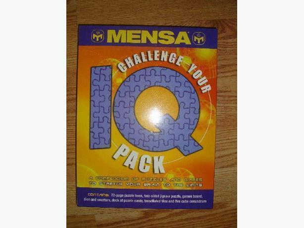 Brand New Mensa IQ Game - Excellent Condition! $12