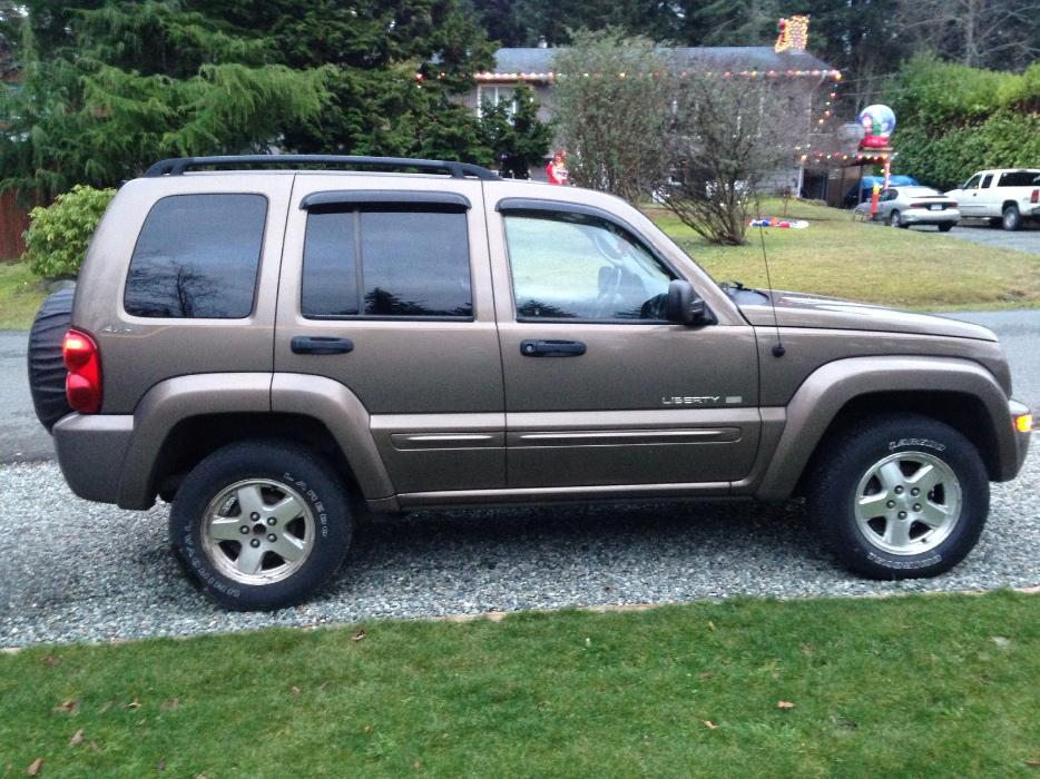 2002 Jeep Liberty 3 500 Obo West Shore Langford Colwood