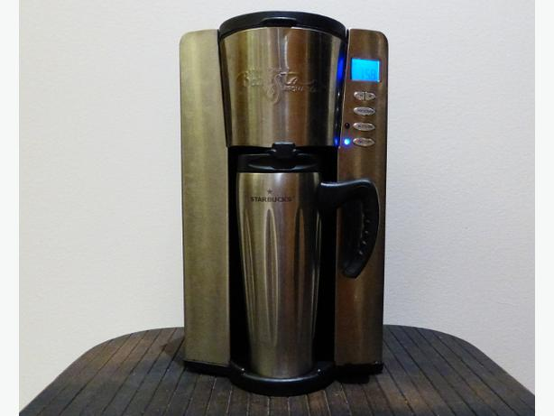 STARBUCKS BaristaAromaSolo Automatic Coffee Maker 16oz Saanich, Victoria