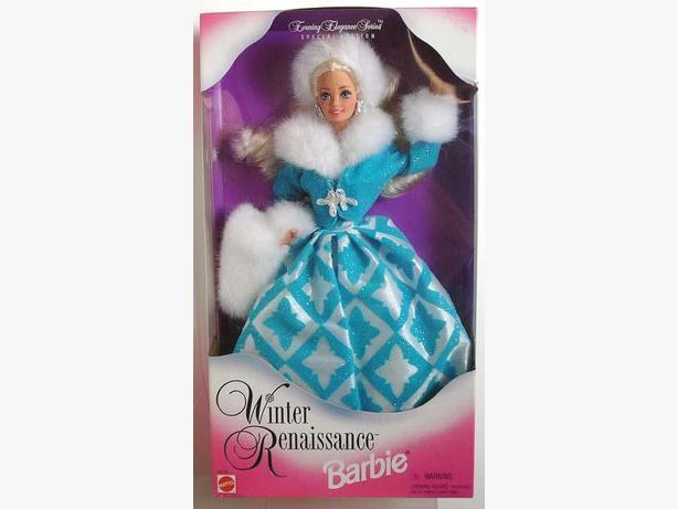 Barbie Winter Renaissance Evening Elegance Series Special Ed. 1996 BNIB