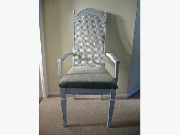 REVITALISED SHABBY CHIC VINTAGE CHAIR (Comox Valley)
