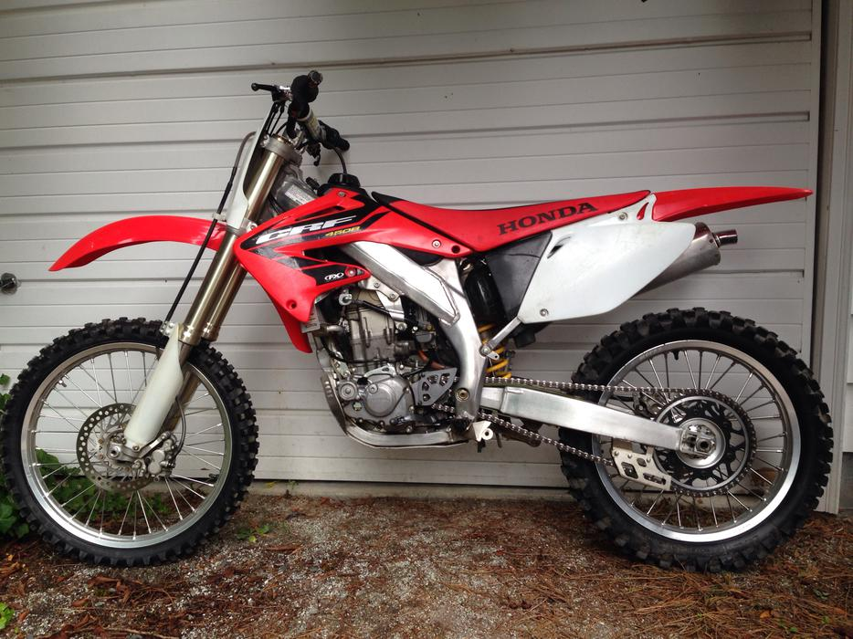 2003 Honda Crf450r Outside Nanaimo Nanaimo Mobile