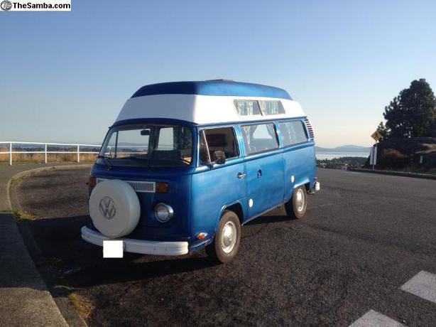 1973 Volkswagen Bus Safare High Top Camper Saanich Victoria