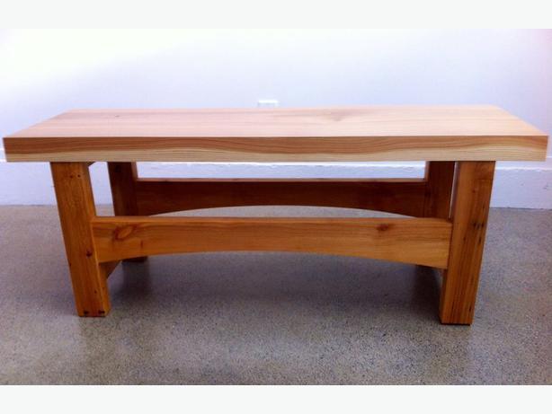Cedar And Alder Coffee Table Or Bench Victoria City Victoria