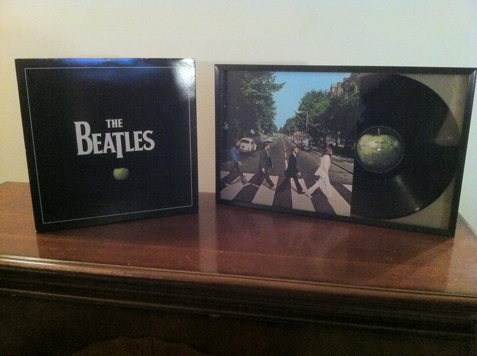 Price Drop The Beatles Box Set Of Vinyl Records With