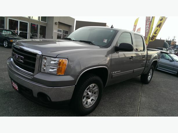 2008 gmc sierra 1500 crew cab 4x4 outside comox valley campbell river. Black Bedroom Furniture Sets. Home Design Ideas