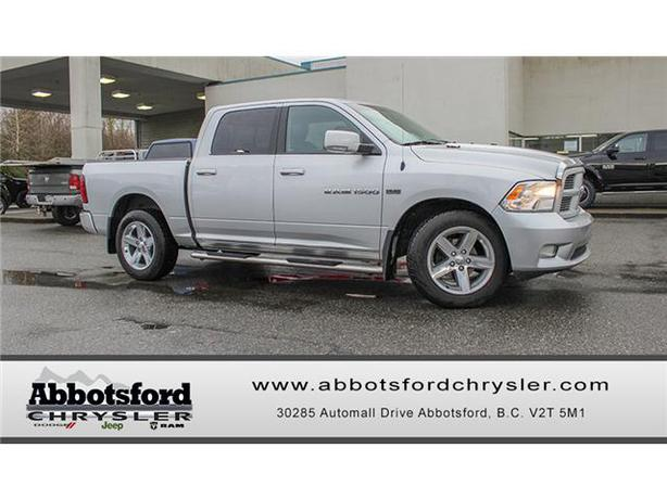 2011 dodge ram 1500 sport w running boards tow package outside metro vancouver vancouver. Black Bedroom Furniture Sets. Home Design Ideas