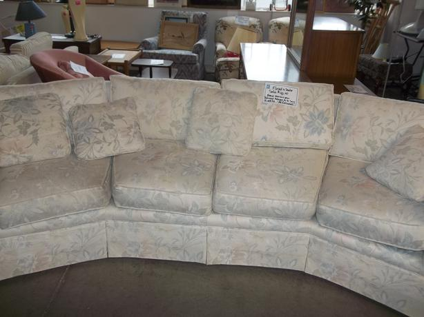 Buy Me Was 40 Curved Couch For Sale At St Vincent De Paul On Quadra Saanich Victoria Mobile