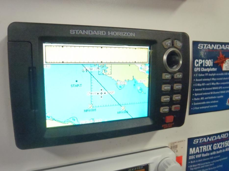 Cpf190inc Gps Chart Plotter Fish Finder Parksville Nanaimo