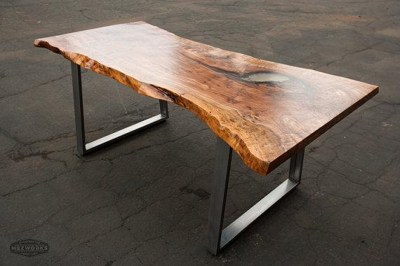 Live edge desk coffee table outside metro vancouver for Coffee tables vancouver