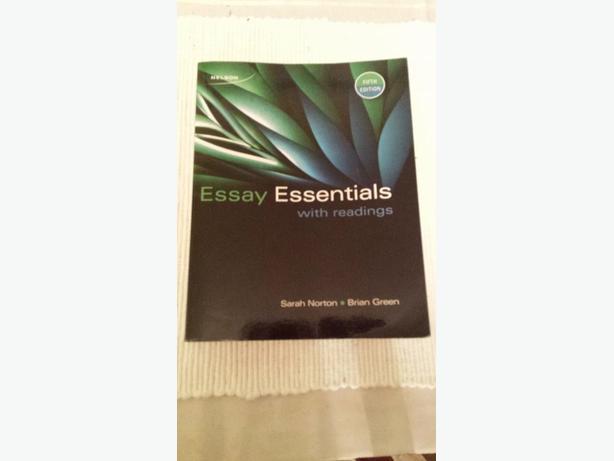 essay essentials with readings 5th edition