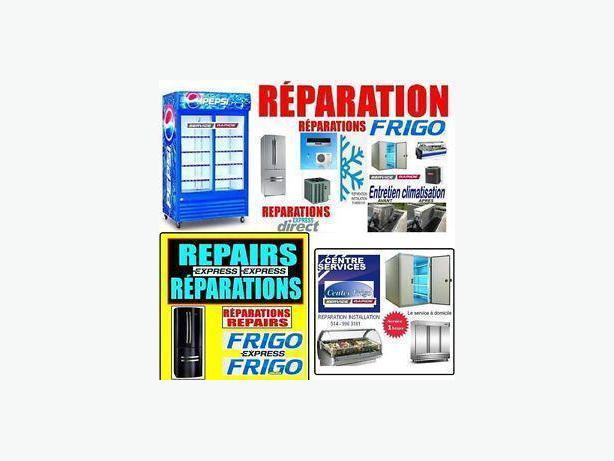 MONTREAL REFRIGERATOR FRIDGE REPAIR 514 9963181 REPARATION EXPRESS REFRIGERATEUR