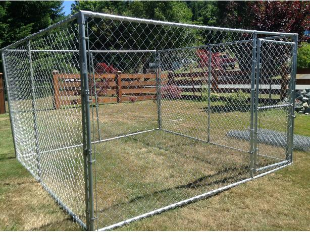 Delivery Included 10x10x6 Panel Style Outdoor Dog Pen