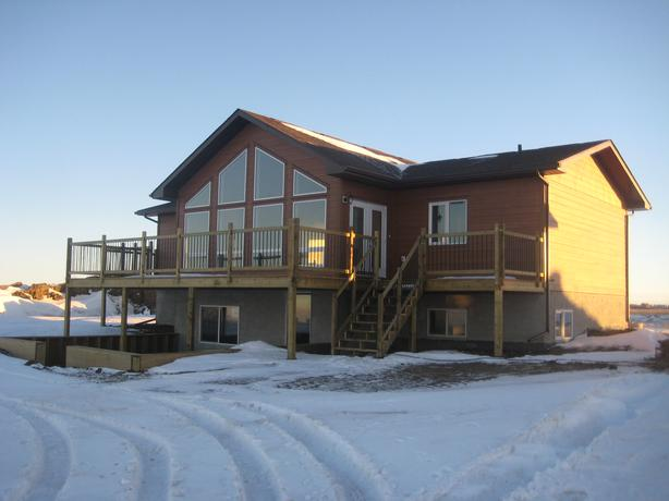 New Lakefront Home For Sale on Last Mountain Lake