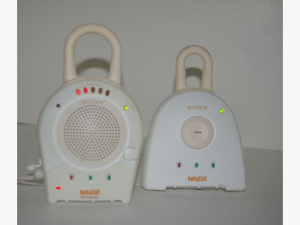 Sony Baby Call Nursery Monitor 900 MHz 27 Channels Rechargeable Sound Sensor