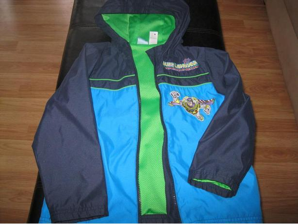 Boys Spring/Fall  - BUZZLIGHT YEAR jacket with hood - size 5