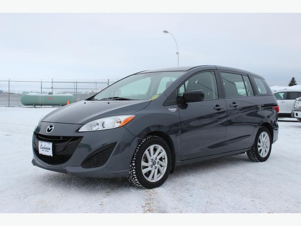 2013 mazda mazda5 gs w 3rd row 7 passenger seating on sale prince albert saskatoon. Black Bedroom Furniture Sets. Home Design Ideas