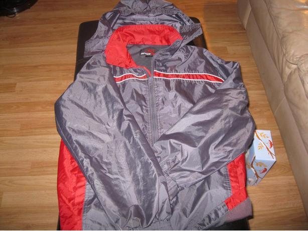 Boys Spring/Fall jacket with hood - size 14/16