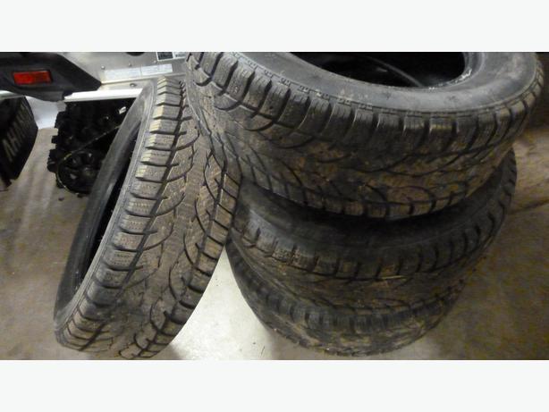 four 195 65r15 studded snow tires summerside pei. Black Bedroom Furniture Sets. Home Design Ideas