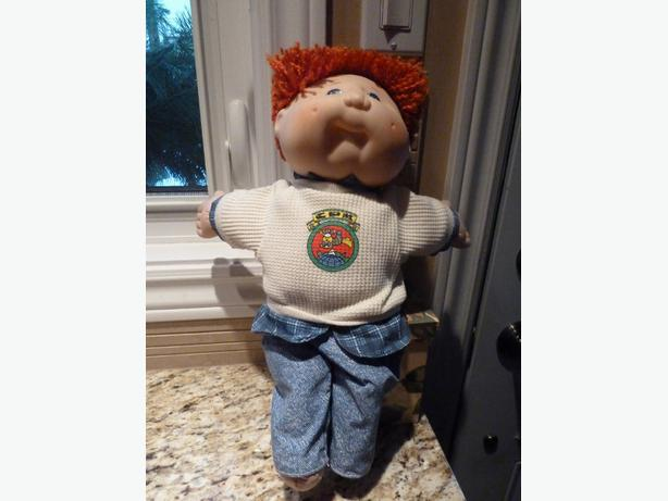 2 Cabbage Patch boy dolls