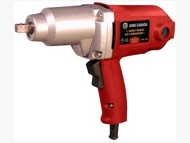 new king canada 1 2 inch electric impact wrench i 40769 victoria city victoria. Black Bedroom Furniture Sets. Home Design Ideas