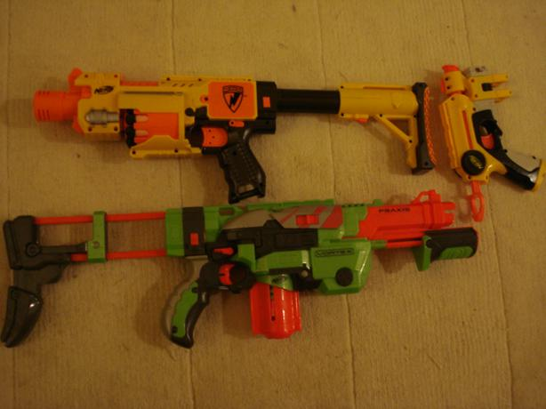 Nerf Gun Arsenal 3 Nerf gun arsenal Kan...