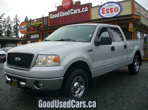 2006 ford f150 crew 4x4 only 158 000km one year powertrain warranty outside comox valley. Black Bedroom Furniture Sets. Home Design Ideas
