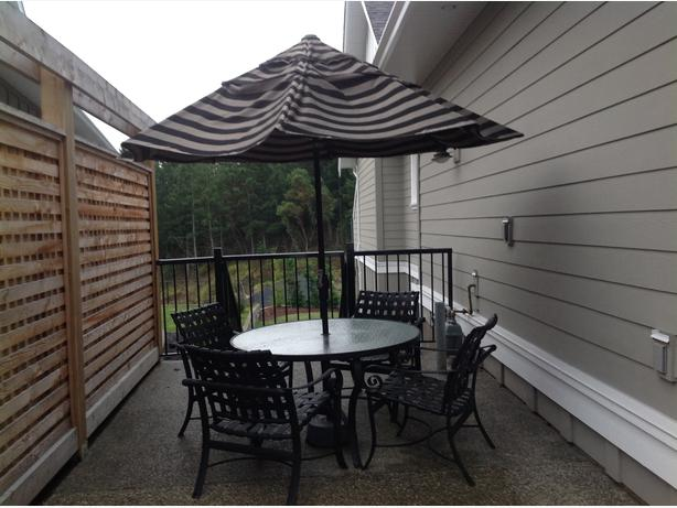 Quality tropitone patio outdoor furniture set west shore for Quality patio furniture