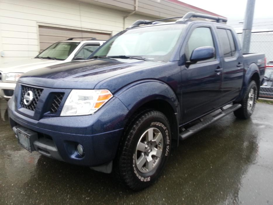 2010 nissan frontier pro 4x campbell river comox valley mobile. Black Bedroom Furniture Sets. Home Design Ideas