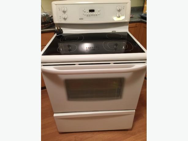 Flat Top Stove ~ Free kenmore flat top stove east regina