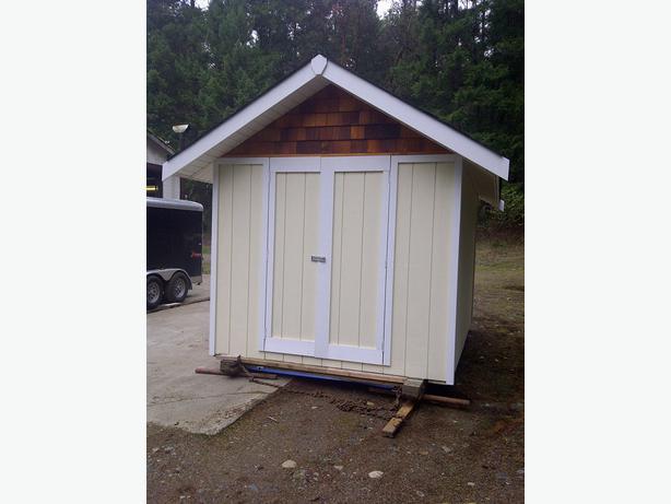 Custom Built 8 X 12 Storage Sheds North Nanaimo