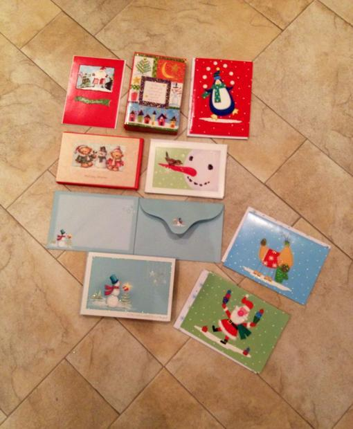 54 assorted christmas holiday cards victoria city victoria
