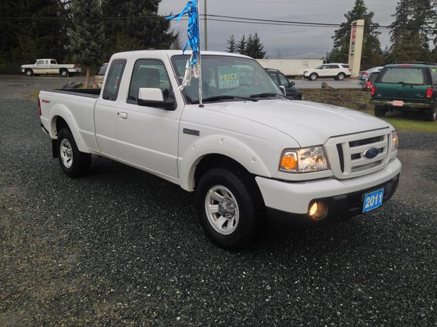 holiday special 2011 ford ranger sport super cab 2wd 4 0l v6 outside cowichan valley cowichan. Black Bedroom Furniture Sets. Home Design Ideas