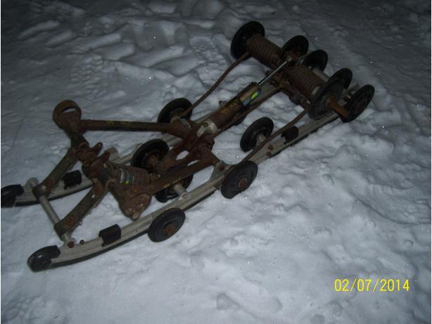 Polaris XLT suspension rear skid