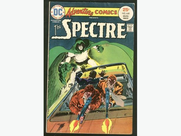 Adventure Comics #440 Spectre  July/August 1975