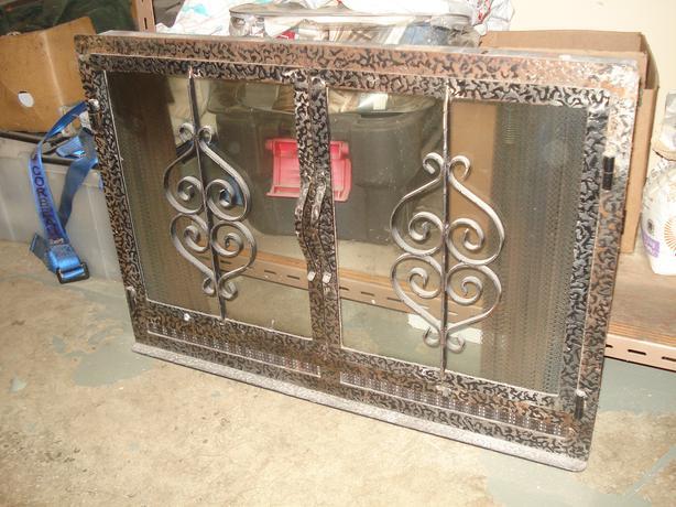 Wrought Iron Fireplace Glass Doors Port Alberni Alberni
