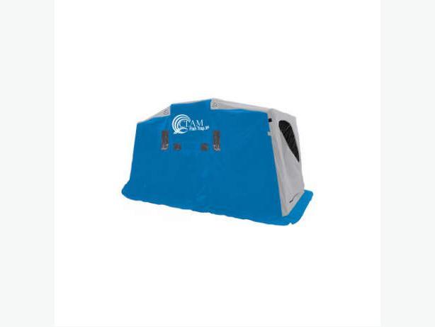 Clam fish trap x4 4 person ice shelter east regina regina for Clam fish trap