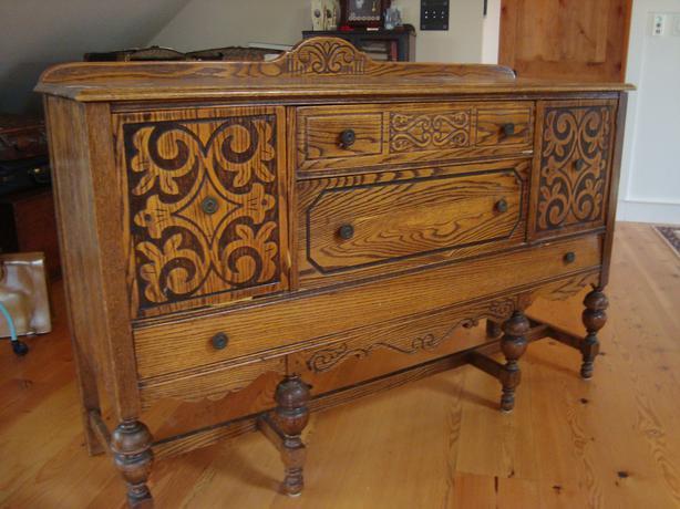 Hutch Antique oak