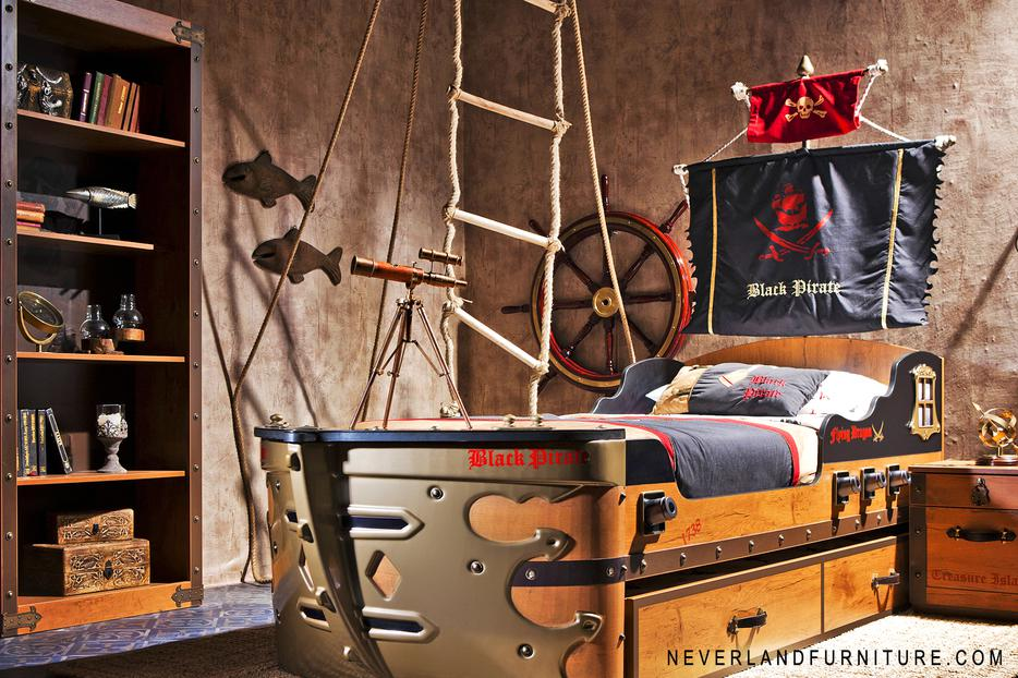 Pirate series boys bedroom furniture on sale kelowna okanagan for L furniture more kelowna bc