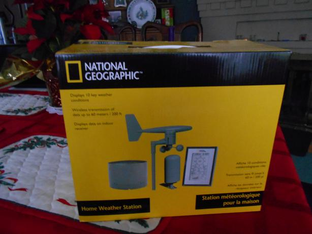 National Geographic Home Weather Station National Geographic Home