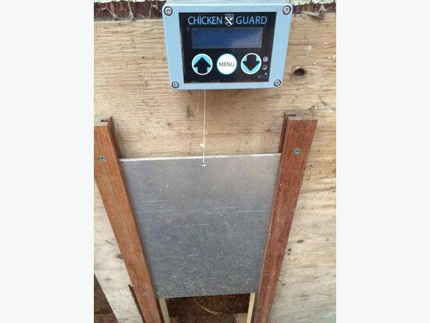 ChickenGuard ASTx Extreme Door Opener Mill Bay, Cowichan